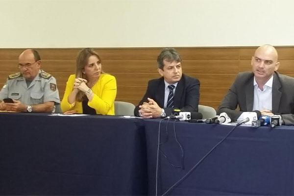 Durante entrevista, Rinaldo Reis e Kalina Leite falaram sobre prisão de Fernando Freire
