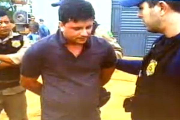 Deputado Carlos Augusto Maia foi algemado pelos inspetores da PRF