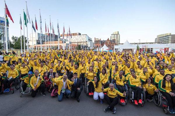 O Brasil tem a maior delegação do Parapan de Toronto, com 272 paratletas