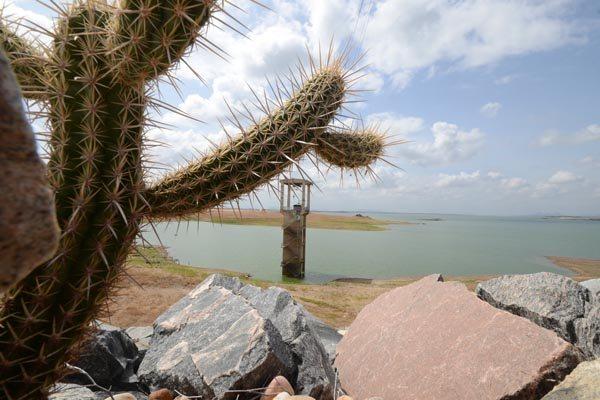 Maior reservatório do RN, Barragem Armando Ribeiro está com menos de 30% da capacidade