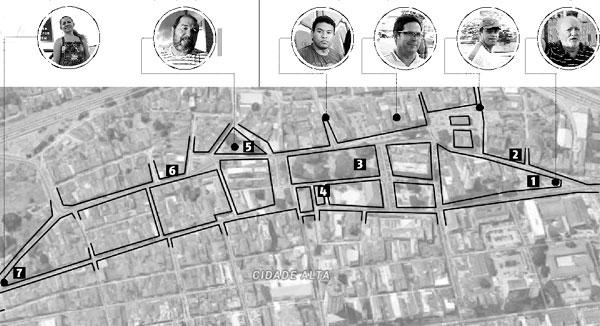 População em geral desconhece fatos históricos sobre a formação da cidade, mas defende que haja trabalho de conservação e recuperação urbana.