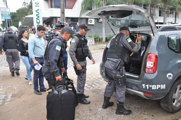 Na Operação Candeeiro, MP recolheu uma série de documentos na sede do Idema no último dia 2