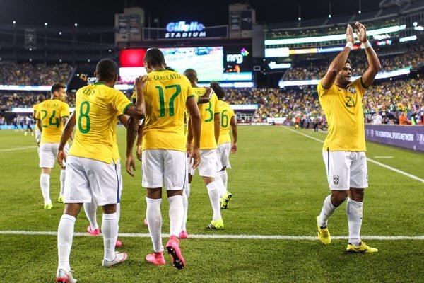 O Brasil encerrou a série de amistosos com duas vitórias em dois jogos e agora espera o Chile