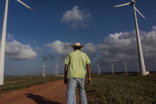 Parque eólico no Rio Grande do Norte: O estado é o maior gerador de energia eólica no Brasil