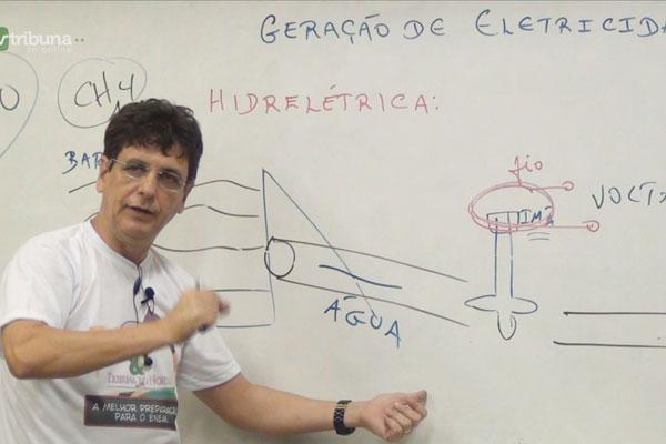 Em Física, quem passará o conteúdo é o professor Luís Carlos