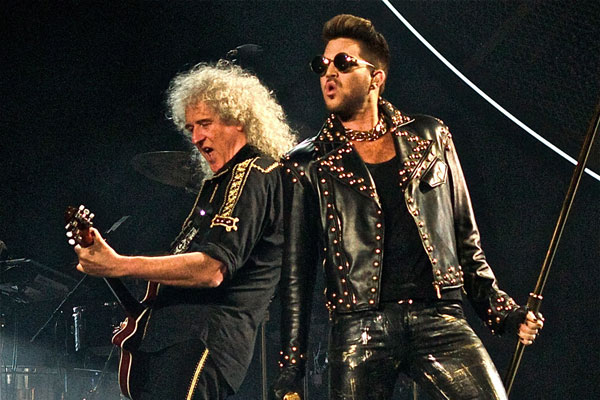 Festival espera reeditar a apoteose rock operística com show do Queen na voz de Adam Lambert