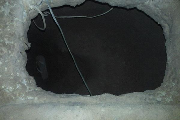 Túnel de 10 metros daria acesso à área externa do presídio
