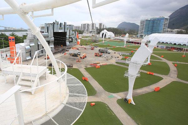 """Montagem final do palco principal do Rock in Rio 30 anos reforça a ideia de seu idealizador, de vivenciar uma """"experiência"""""""