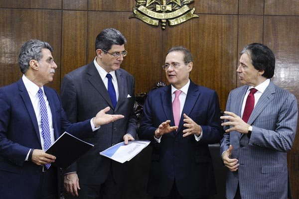 Ministro Joaquim Levy entrega à cúpla do PMDB proposta para construção de um pacote de medidas com base na Agenda Brasil