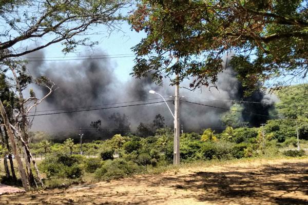Fumaça assustou estudantes da UFRN