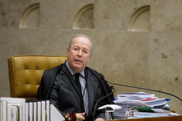 Celso de Mello é designado como relator do processo no STF