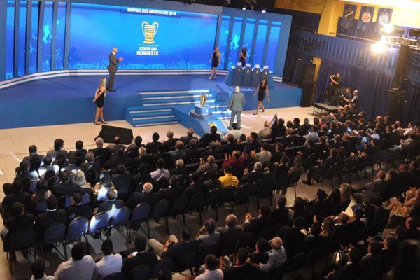 Presidente da CBF, Marco Polo Del Nero, destacou a união do povo nordestino como a chave do sucesso do torneio regional no Brasil