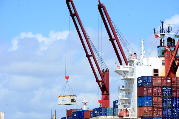 Movimentação de cargas em navio, no Porto de Natal: Exportações registram alta de 30,32%