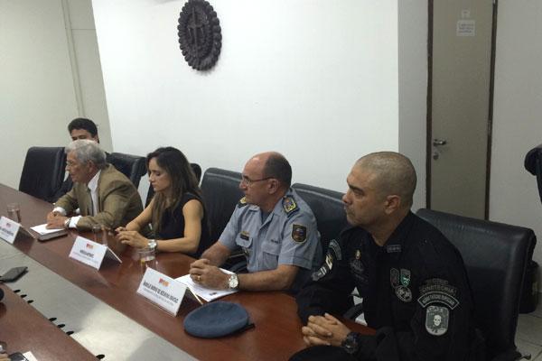 Coletiva foi realizada na tarde desta terça-feira para esclarecer detalhes sobre a Operação Novos Rumos
