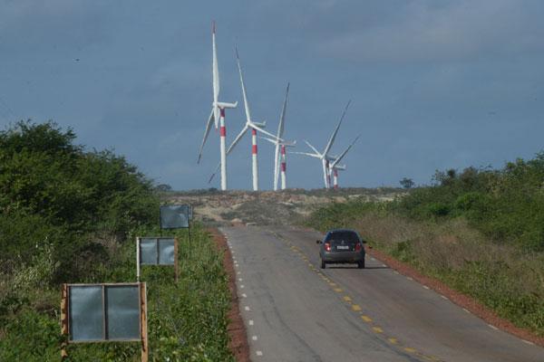 Energia eólica está mudando a economia de pequenas cidades como Parazinho, que pula do 80º lugar para a 36ª colocação no ranking estadual do ICMS