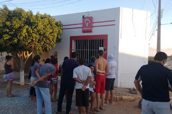 Ação dos criminosos assustou a população do município de Coronel Ezequiel, localizado a 141 km de Natal