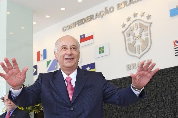 O presidente da Confederação Brasileira de Futebol, Marco Polo Del Nero abriu espaço para a Liga