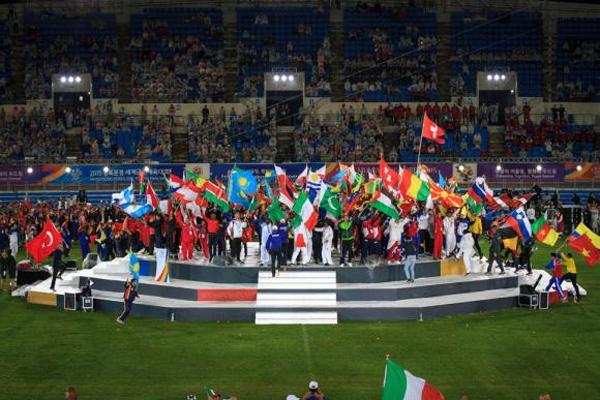 Brasil termina em segundo lugar nos Jogos Mundiais Militares, na Coreia