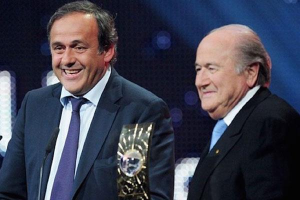Platini e Blatter foram banidos do futebol por oito anos