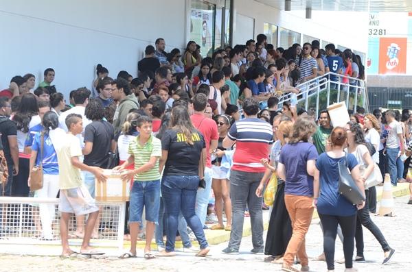 Quase seis milhões de estudantes fizeram provas do Enem