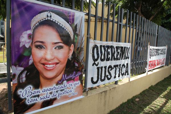 A estudante Maria Luíza Fernandes Bezerra foi estuprada e brutalmente assassinada aos 15 anos