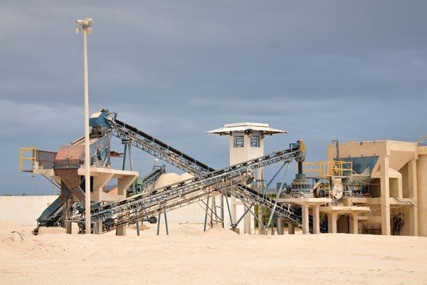 Produção de feldspato: A criação de um polo de mineração seria um dos projetos prioritários