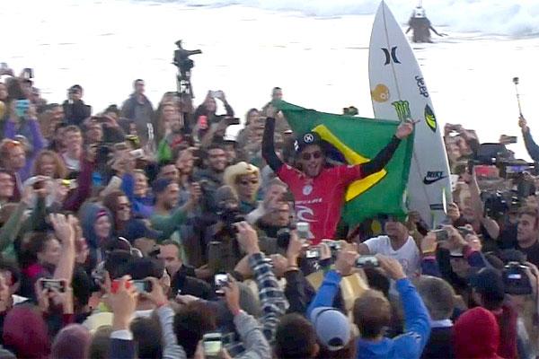Filipinho conseguiu uma nota 10 e foi campeão da última etapa europeia