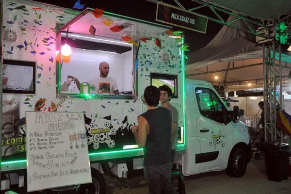 Foodtrucks estarão presentes na feira gastronômica