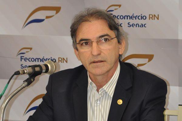 Marcelo Queiroz - presidente da Fecomercio/RN