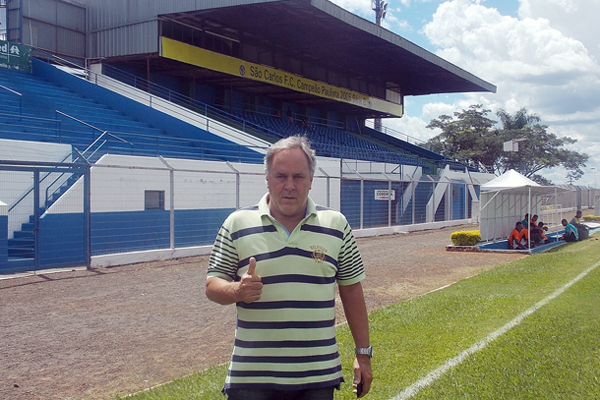 Aluísio Guerreiro atuou em 2014 como consultor técnico do São Carlos, time do interior de São Paulo