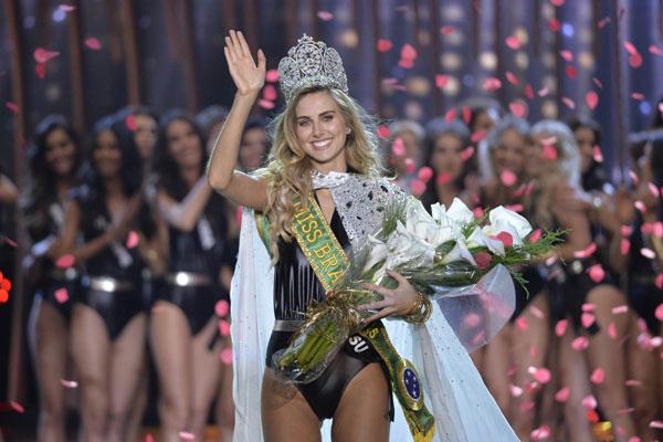 A Miss Rio Grande do Sul, Marthina Brandt, foi coroada