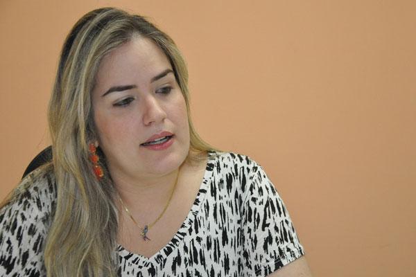 Silvana Fonseca, diretora do Centro de Reabilitação Infantil