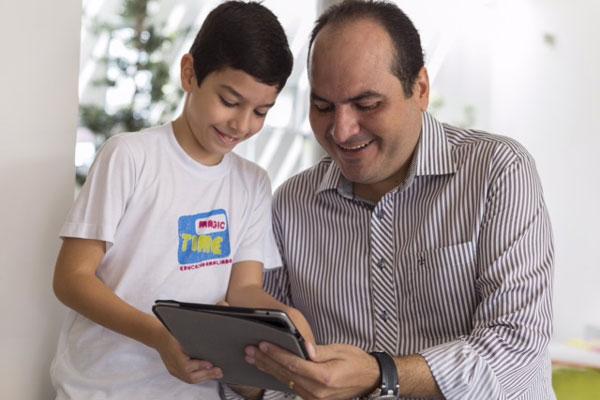 Uso de tablet torna aprendizado mais dinâmico