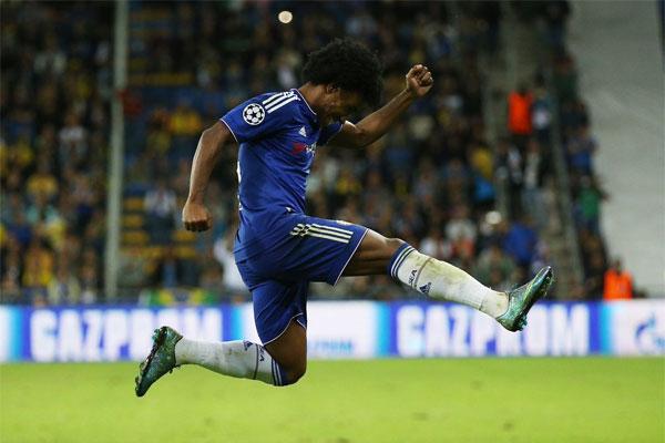 Willian renova com o Chelsea por mais 4 anos