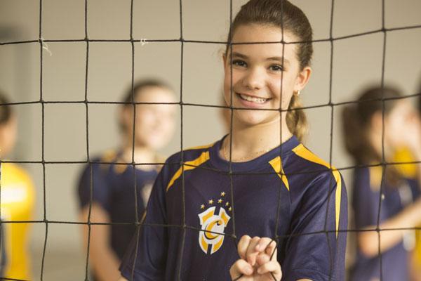 Colégio Contemporâneo oferece atividades esportivas a partir da Educação Infantil.