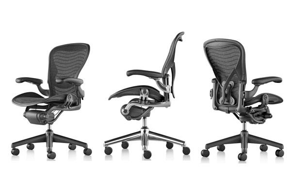 Cadeiras Aeron Chair serão utilizadas no TJRN