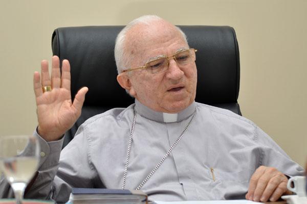 Dom Jaime Vieira, arcebispo metropolitano, acredita na hipótese da canonização ser em 2017