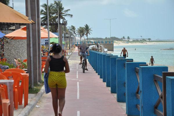 Praia do Meio foi palco de dois homicídios durante fim de semana