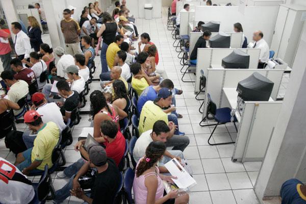 Posto do Sine, que encaminha trabalhadores para o mercado: Em 2014, a taxa de formalização no RN era maior que a média regional