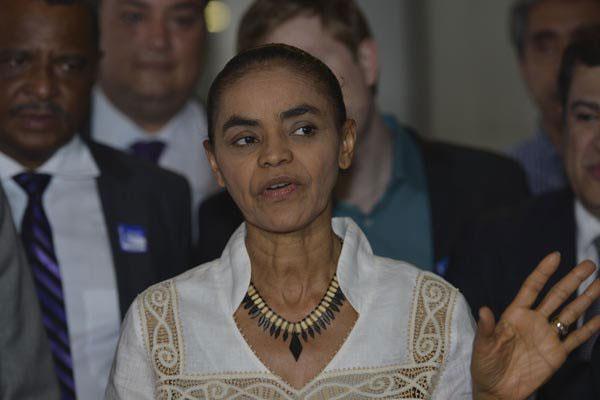 Marina discutiu impeachment com a bancada da Rede e disse que não pode haver revanche eleitoral