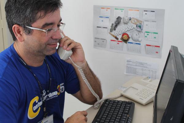Para Richarles Xavier, trabalho de coordenação é uma parceria com toda a equipe pedagógica