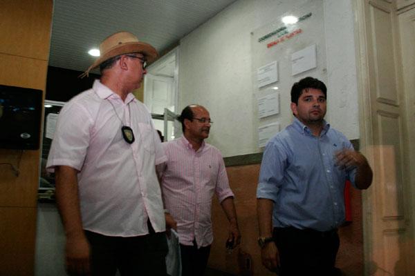Jadilson Berto Lopes (centro) já havia sido condenado na Operação Ouro Negro, em 2007