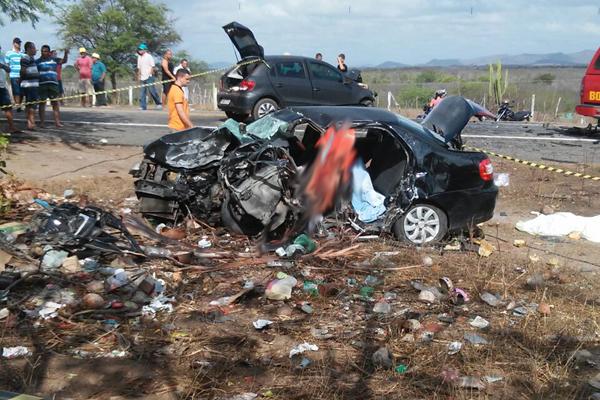 Acidente aconteceu em trecho da BR-226 entre Tangará e Serra Caiada