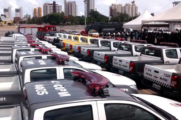 Viaturas servirão para patrulha nas cidades e no litoral