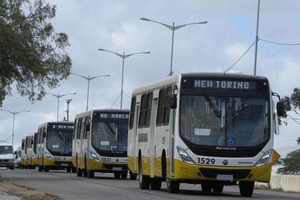 Parte da remessa de 30 novos ônibus já estão em Natal. Outra parte deverá chegar até a próxima semana.