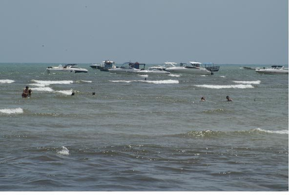 Marinha colocou 80 homens para fiscalizar faixa litorânea do RN