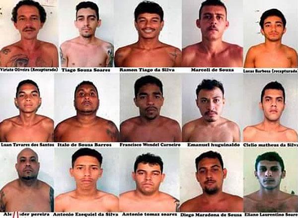 Dezesseis presos fugiram da penitenciária Mário Negócio e dois foram recapturados