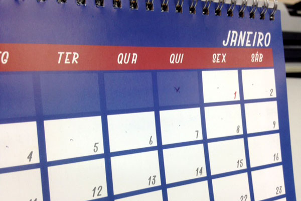 Governo Federal confirmou calendário de feriados para este ano