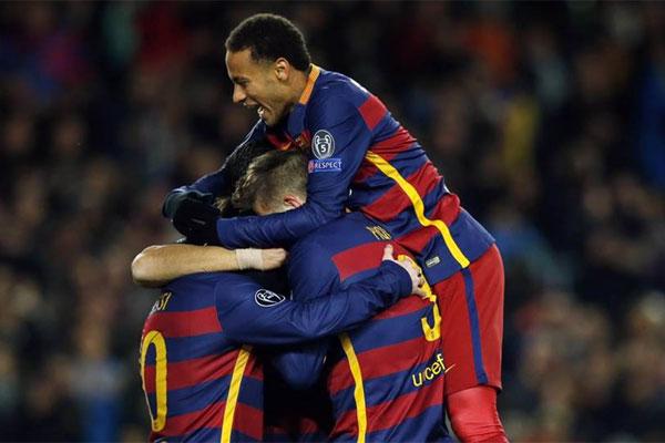 Messi, Piqué e Neymar são alguns dos representantes do Barcelona na seleção da UEFA