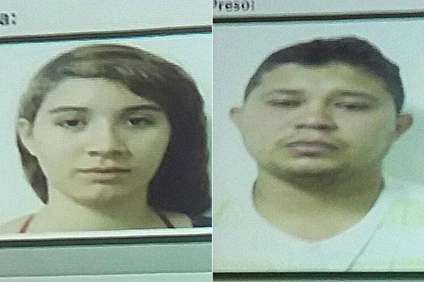 Jully Shayonara e Wagner Almeida foram presos pela Polícia Civil